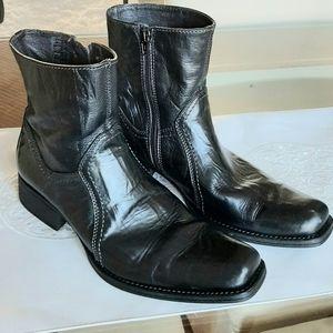 Aldo Above Ankle Black Boots